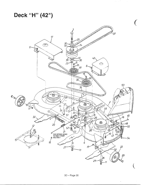 small resolution of looking for mtd model 136m670g788 front engine lawn tractor repair mtd mower parts diagram mtd mower diagram