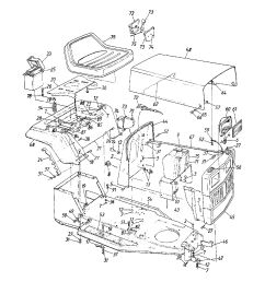 mtd 138 350 088 12 hp 32 lawn tractor page 2 diagram [ 1224 x 1584 Pixel ]