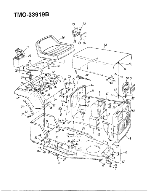 small resolution of mtd 138 350 088 12 hp 32 lawn tractor page 2 diagram