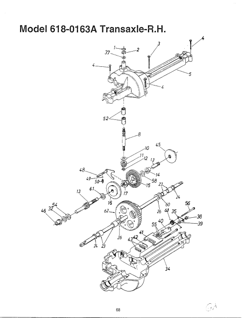 small resolution of mtd rear axle diagram wiring diagram lyc mtd rear axle diagram