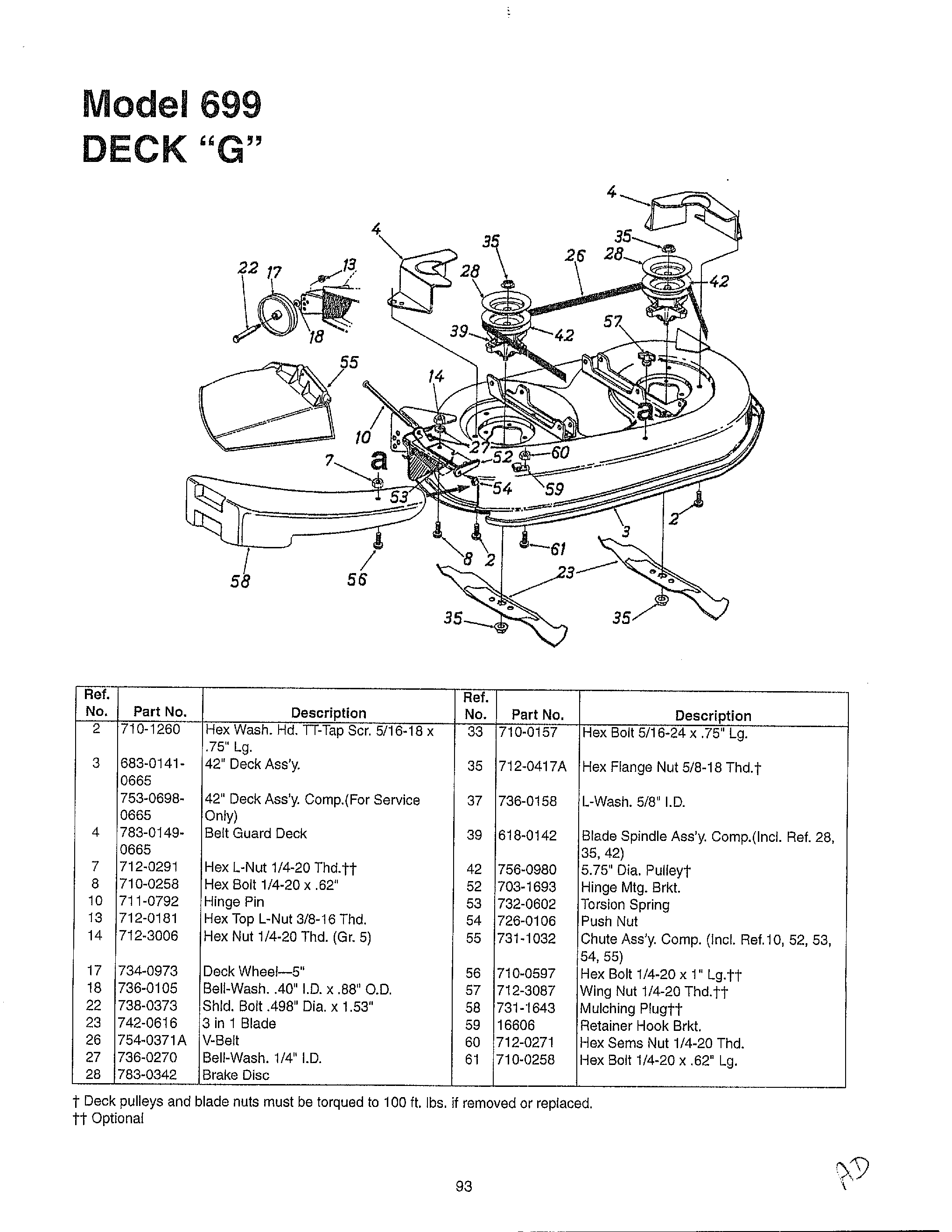ENGINE/ELECTRICAL Page 10 Diagram & Parts List for Model