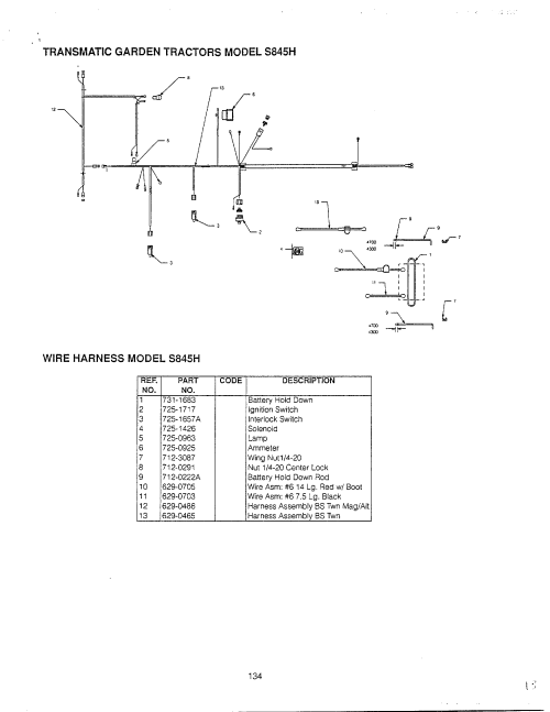 small resolution of ammeter wiring diagram for mtd lawn tractor