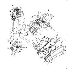 Mtd Yard Machine Parts Diagram State Of Library Management System Garden Tiller - Ftempo