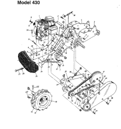 looking for mtd model 215 410 000 rear tine tiller repair mtd tiller engine diagram [ 1224 x 1584 Pixel ]