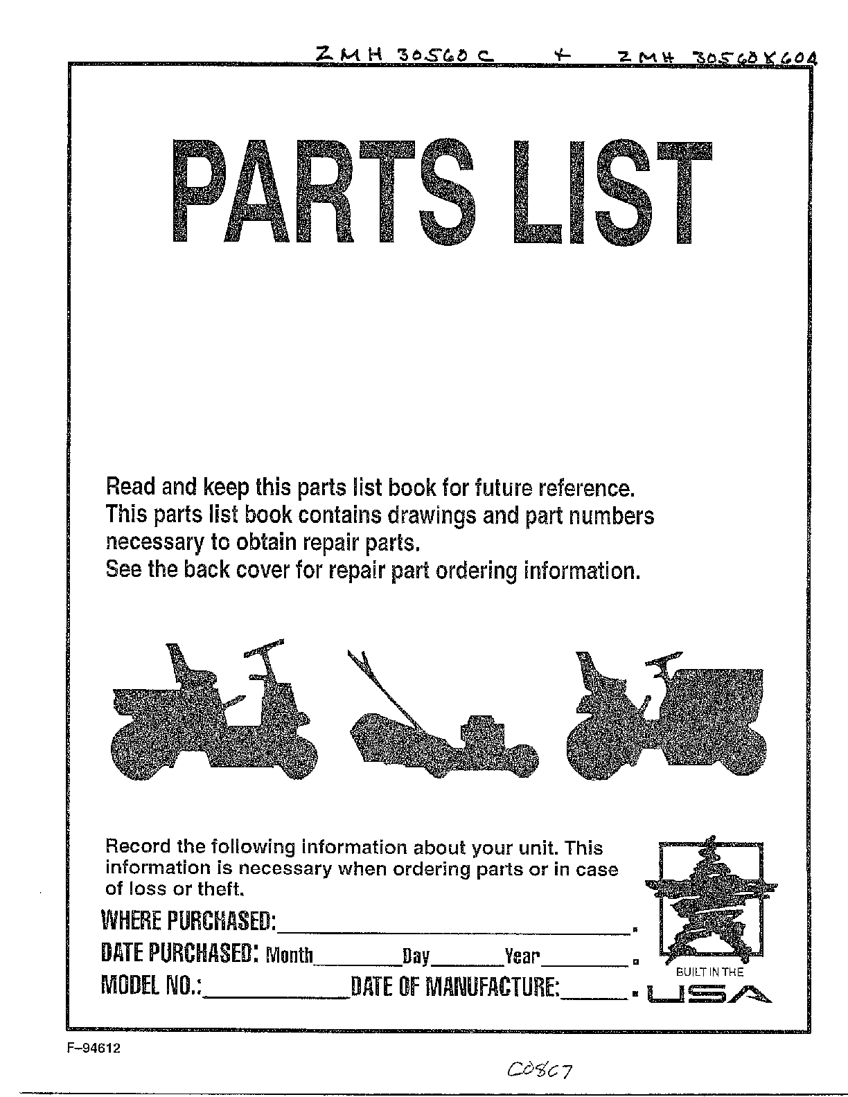 hight resolution of murray riding mower diagram
