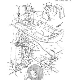 looking for murray model 30560c rear engine riding mower repair replacement parts  [ 1224 x 1584 Pixel ]