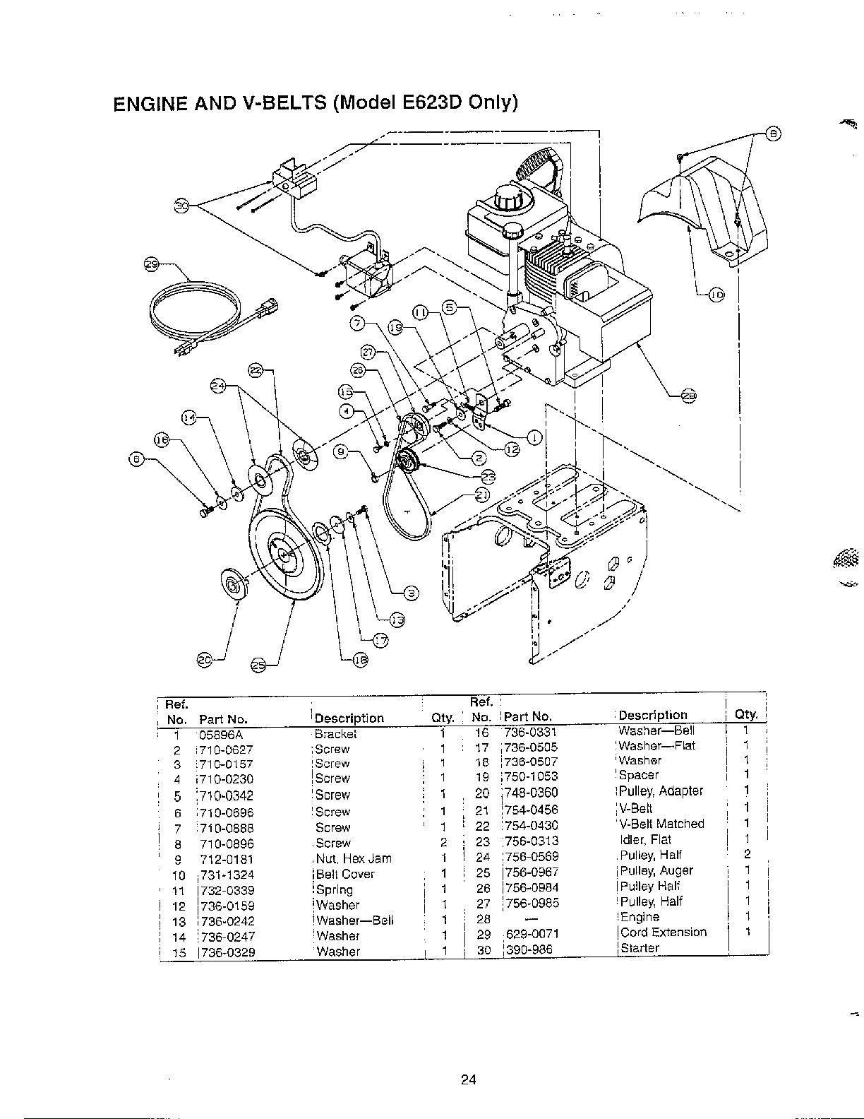 hight resolution of looking for mtd model 31ae6b3h401 gas snowblower repair diagram of yard man snowblower