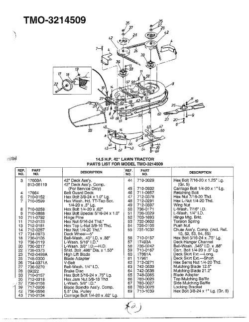 small resolution of mtd model 3214509 lawn tractor genuine parts john deere mower diagram mtd mower carb diagram