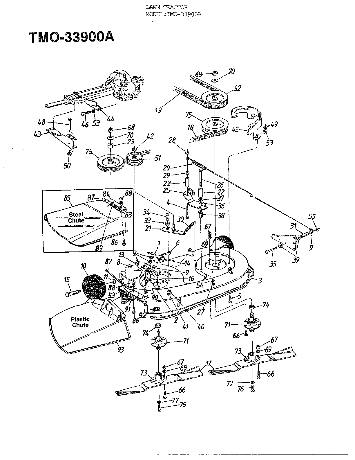 Huskee Riding Mower Parts Diagram, Huskee, Free Engine