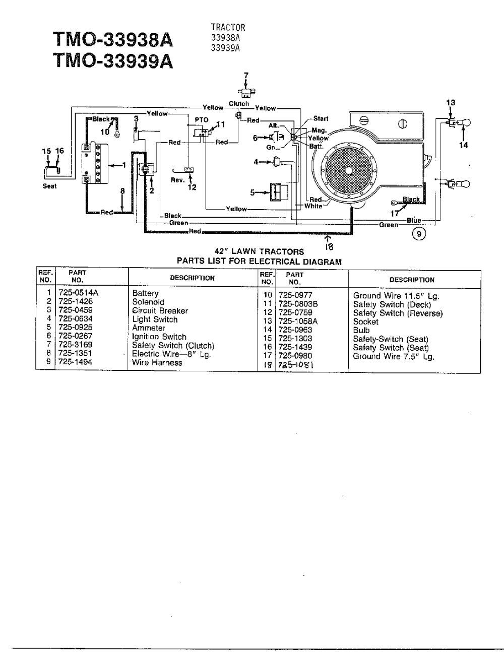 medium resolution of mtd wiring schematic wiring diagrams monmtd wiring diagram wiring diagram mtd model 33938a lawn tractor