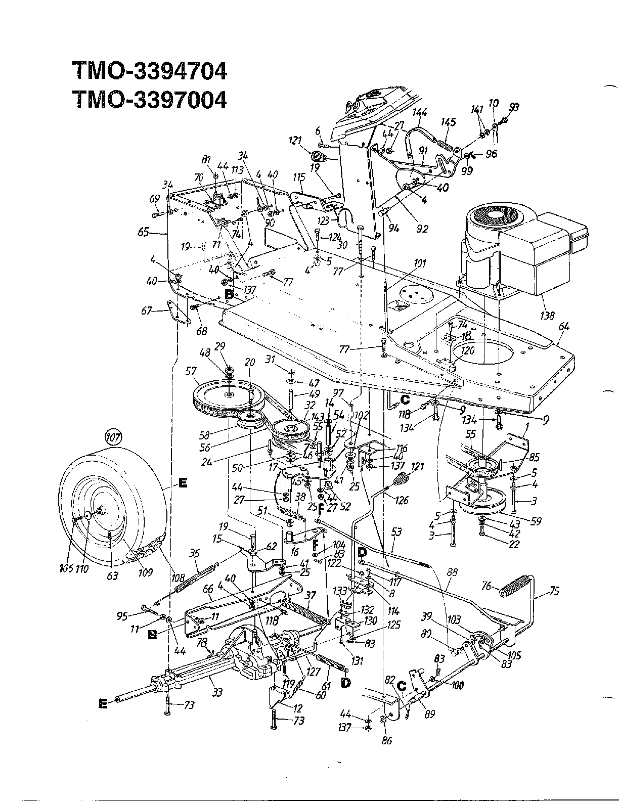 Mtd 1 4 Hp Lawn Mower Wiring Diagram, Mtd, Free Engine