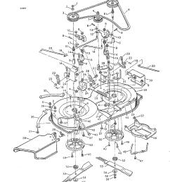 murray 40627x92a mower housing diagram [ 1224 x 1584 Pixel ]