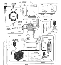 huskee riding mower electrical diagram [ 1224 x 1584 Pixel ]