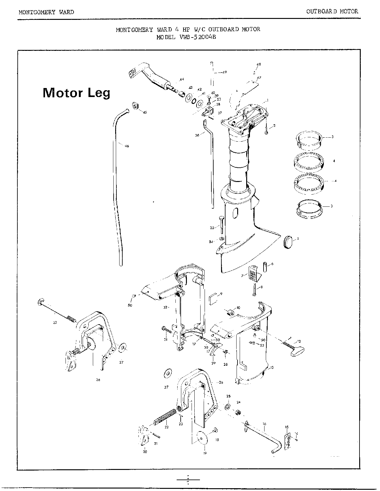 Motor Parts: Outboard Motor Parts Mercury