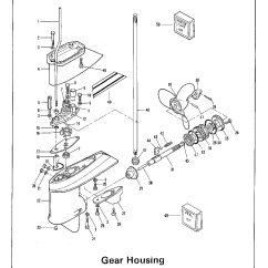 Outboard Motor Lower Unit Diagram 2005 Ford Escape Alternator Wiring Motors Parts Mercury Impremedia