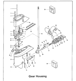 lower unit group diagram and on 9 8 mercury outboard lower unit mercury lower unit wiring diagram [ 1224 x 1584 Pixel ]