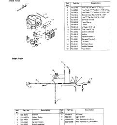 mtd 690 thru 699 muffler electrical page 2 diagram [ 1224 x 1584 Pixel ]
