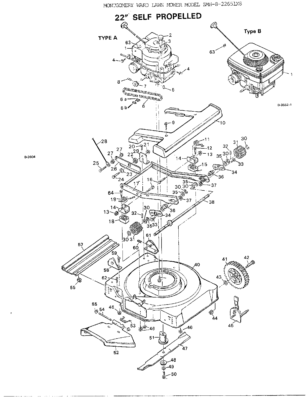 Scott S Self Propelled Lawn Mower Parts Diagram. Diagram
