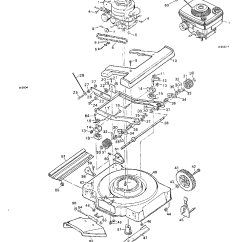 Push Mower Wiring Diagram Federal Signal Pa300 Ignition Murray 46 Cut In Library Model 8 22651x8 Walk Behind Lawnmower Gas Genuine Parts Rh Searspartsdirect Com Riding