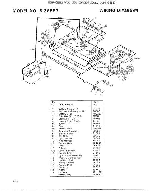 small resolution of murray 8 36557 wiring diagram diagram