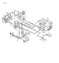 murray lawn mower engine diagram wiring diagram sort looking for murray model 8 36568 front engine [ 1224 x 1584 Pixel ]