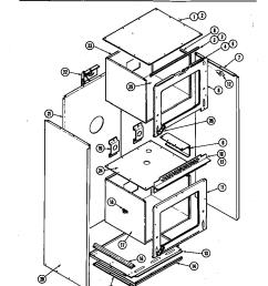 jenn air w256b body w256 w256 diagram [ 848 x 1100 Pixel ]