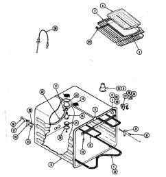 jenn air w256b oven w256 w256 diagram [ 848 x 1100 Pixel ]