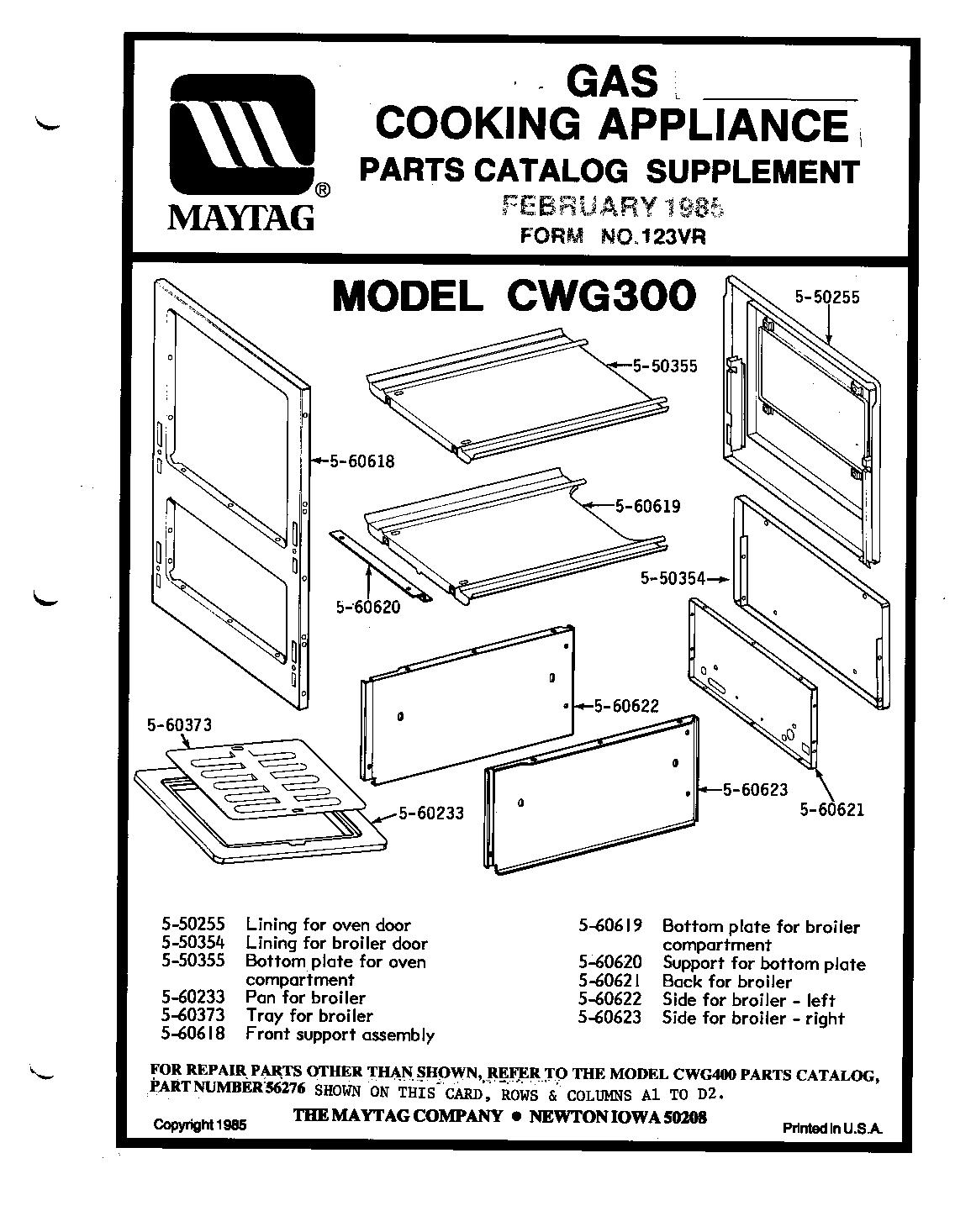 Maytag: Maytag Oven Parts