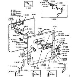 kitchenaid dishwasher wiring harnes diagram [ 848 x 1100 Pixel ]