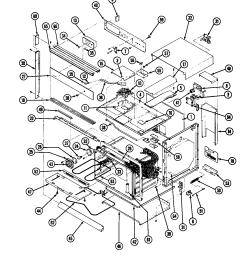 magic chef 59fn 5tvw body diagram [ 1136 x 1466 Pixel ]