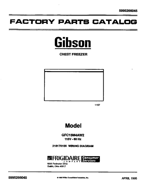 small resolution of gibson freezer wire diagram