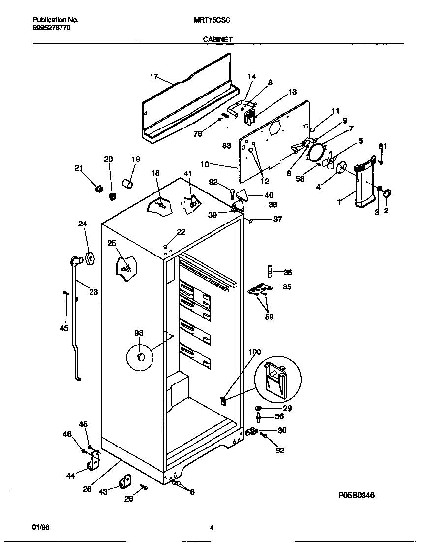 Refrigerators Parts: Kelvinator Refrigerator