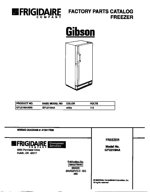 small resolution of gibson freezer wiring diagram