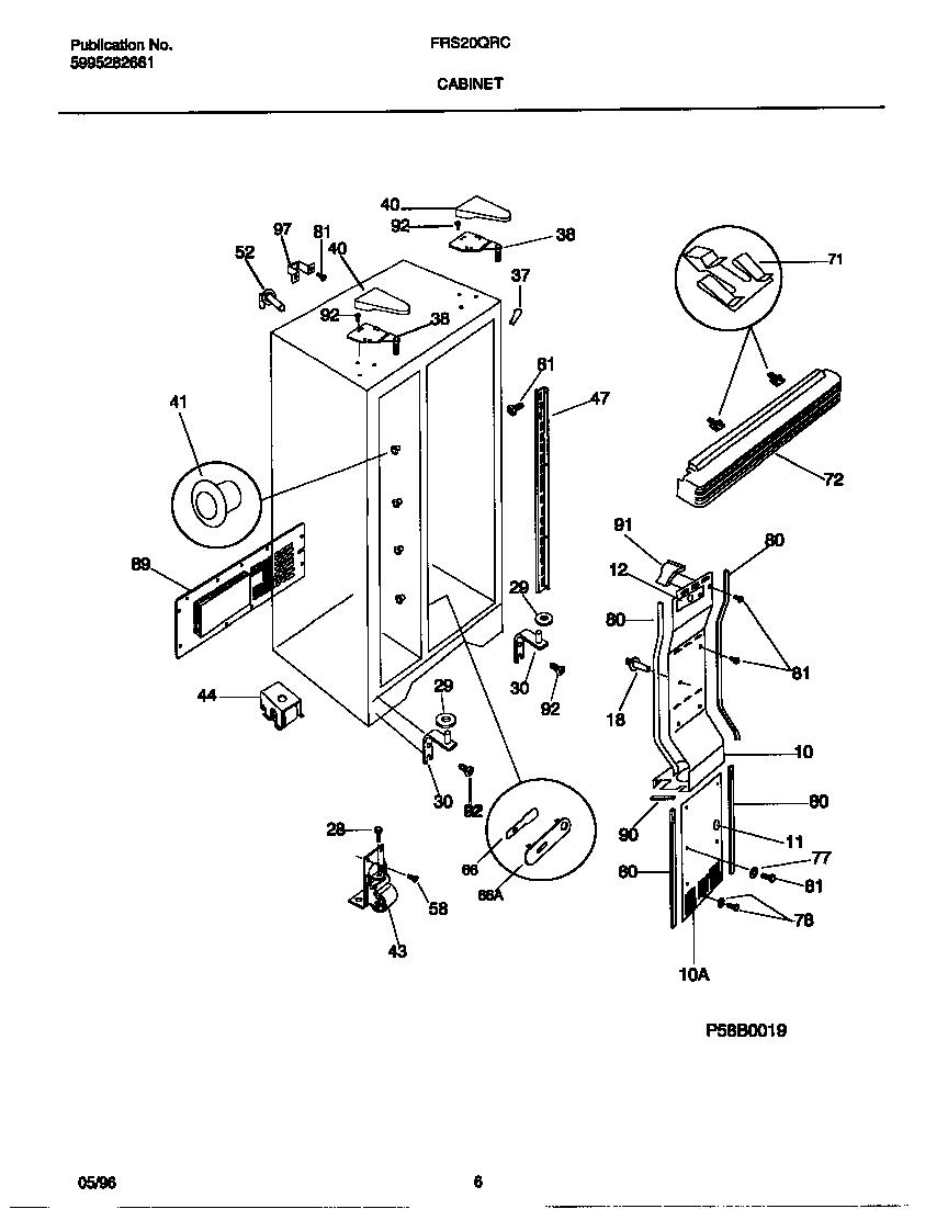 Wiring Diagram For Frigidaire Freezer Washer Wiring