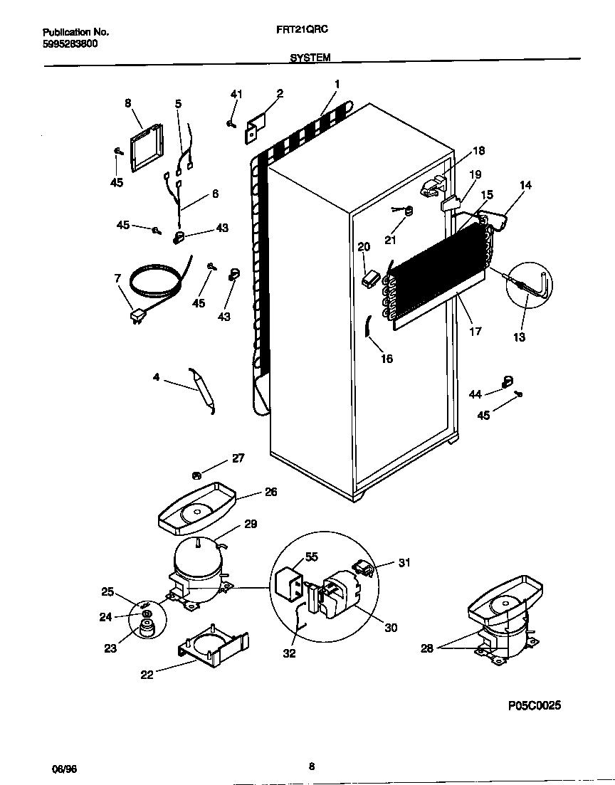 medium resolution of frigidaire refrigerator compressor wiring diagram simple wiring schema rh 36 aspire atlantis de embraco compressor start capacitor wiring 3 in 1