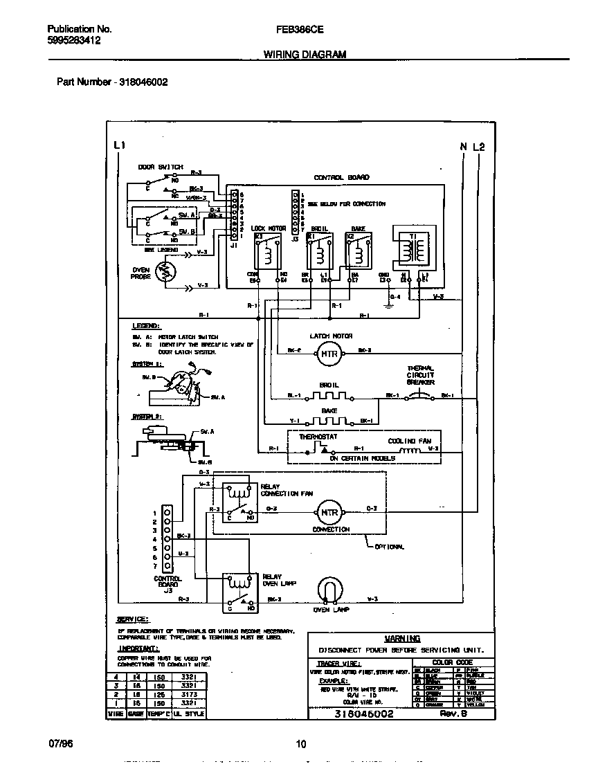 hight resolution of gallery wall oven microwave bo on wiring diagram for frigidaire oven