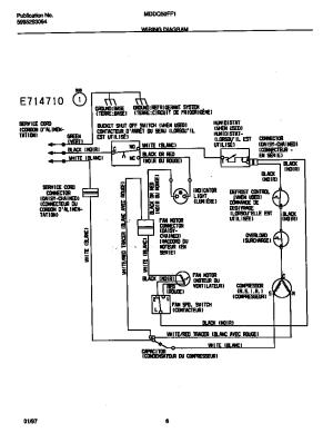 Frigidaire Dehumidifiers  5995293064 Unit Parts | Model