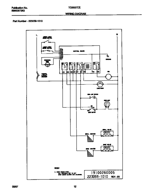 small resolution of looking for tappan model tgb557ceb2 gas wall oven repairtappan tgb557ceb2 wiring diagram diagram