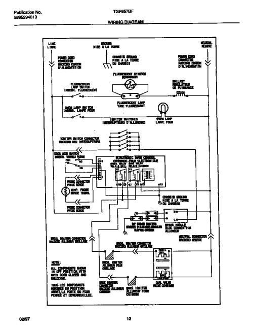 small resolution of tappan stove wiring diagram wiring diagram paper tappan oven wiring diagram looking for tappan model tgf657bfw1