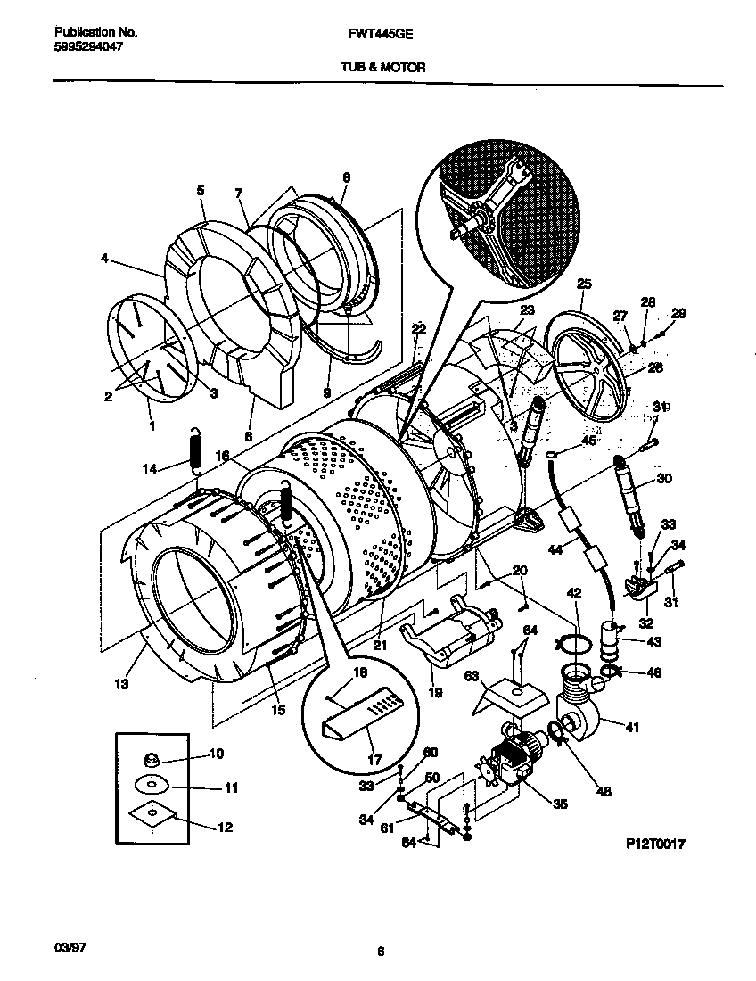 Front Load Washer: Whirlpool Front Load Washer Parts Diagram