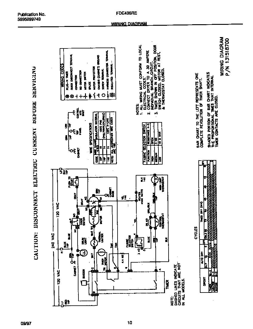 hight resolution of looking for frigidaire model fde436res1 dryer repair u0026 replacementfrigidaire fde436res1 wiring diagram diagram