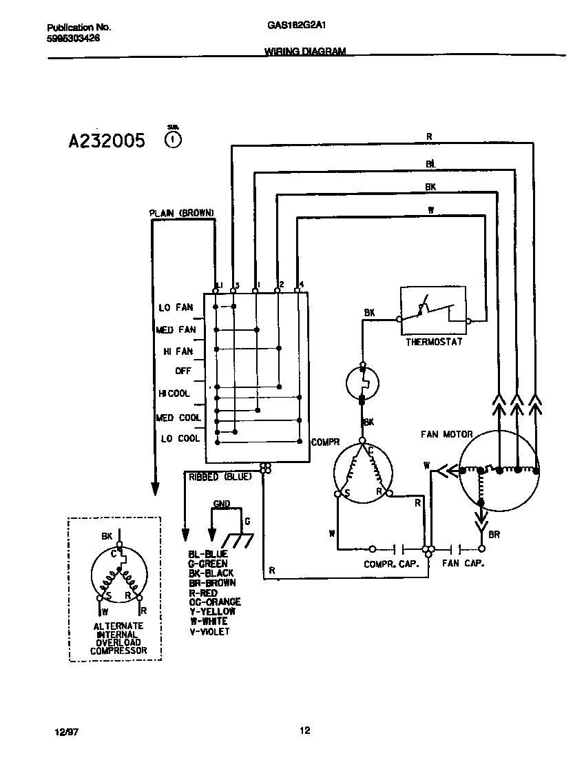 Brown Freezer Wiring Diagram    Wiring Diagram