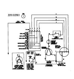 frigidaire room air conditioner wiring diagram parts model [ 848 x 1100 Pixel ]