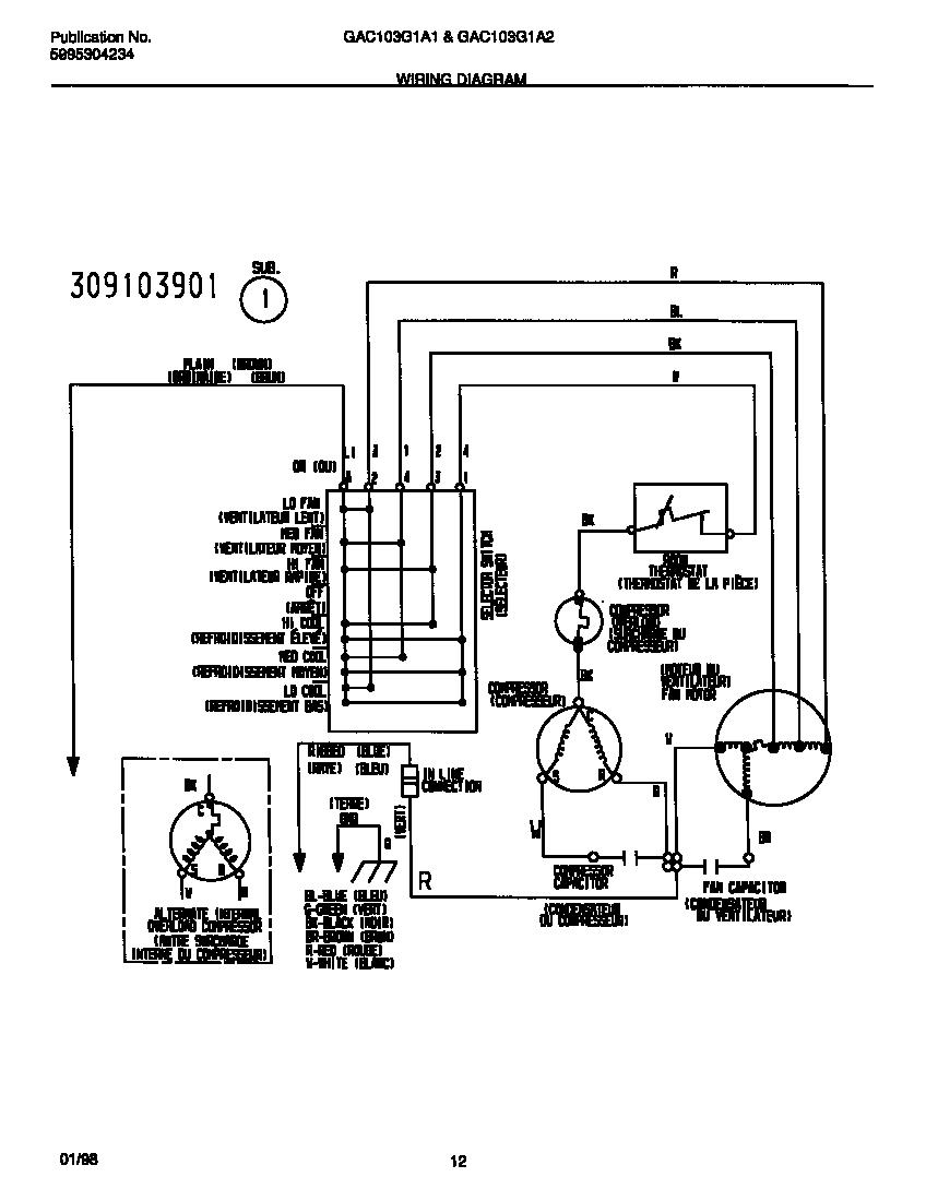 hight resolution of frigidaire window air conditioner wiring diagram choice rheem air conditioner wiring diagram air conditioner compressor wiring
