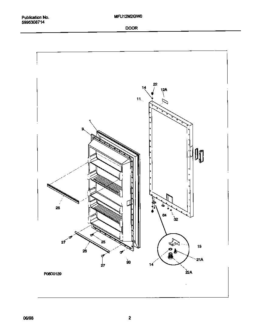 UNIVERSAL/MULTIFLEX (FRIGIDAIRE) Upright Freezer Cabinet