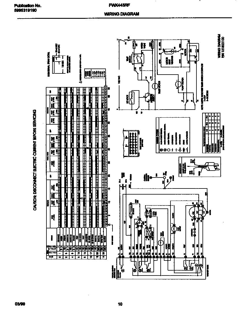 hight resolution of frigidaire frigidaire washer p5995319190 wiring diagram parts