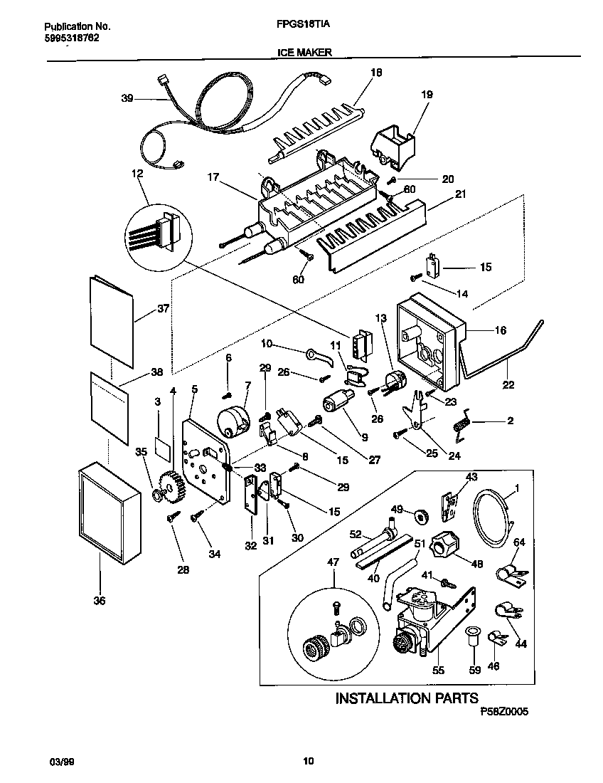 Wiring Diagrams For Frigidaire Refrigerators 2006
