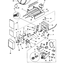 Ge Profile Microwave Parts Diagram 2009 Subaru Forester Radio Wiring Sears Refrigerator Diagram, Sears, Get Free Image About