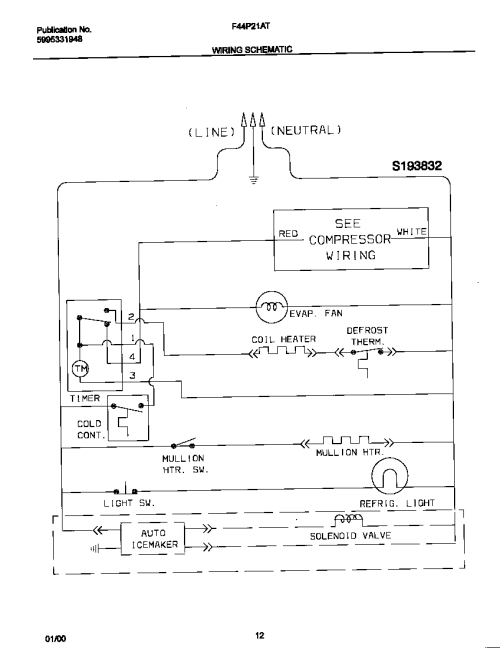 small resolution of refrigerators parts frigidaire parts refrigerator american standard compressor wiring diagram excellent frigidaire refrigerator wiring diagram frigidaire