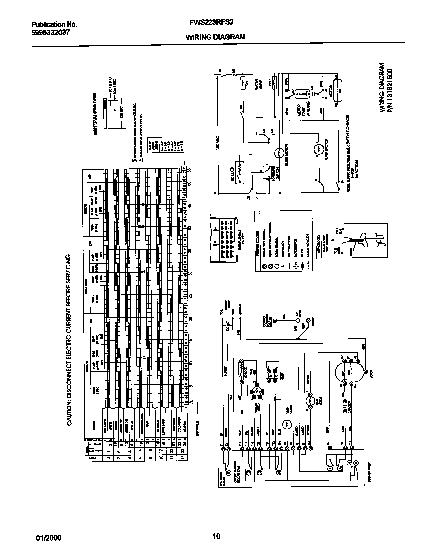 medium resolution of frigidaire fws223rfs2 131821600 wiring diagram diagram